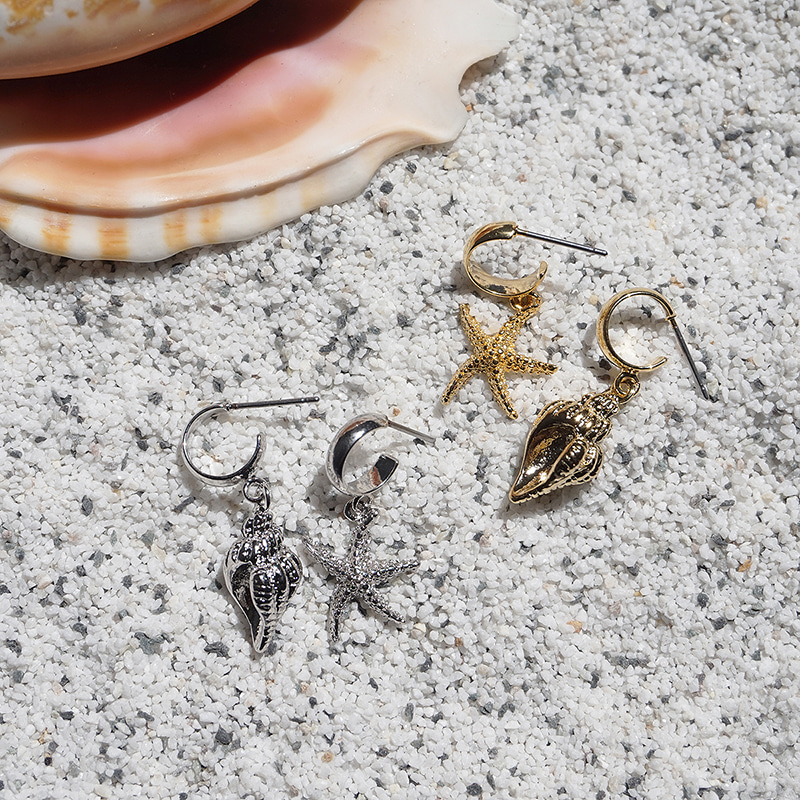 Under the Sea Earring(2colors)