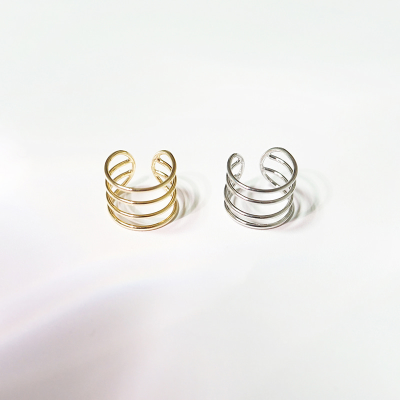 Four Line Ear Cuff(2colors)