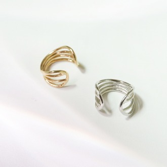 Curve Ear Cuff(2colors)