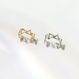 Triangle Ear Cuff(2colors)